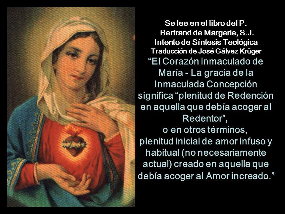 Dulce Inmaculado Corazón de María.Sed la Salvación del alma mía.