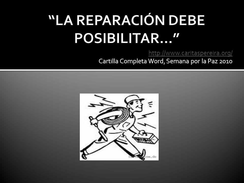 http://www.caritaspereira.org/ Cartilla Completa Word, Semana por la Paz 2010