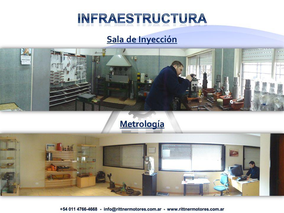 Sala de Inyección Metrología