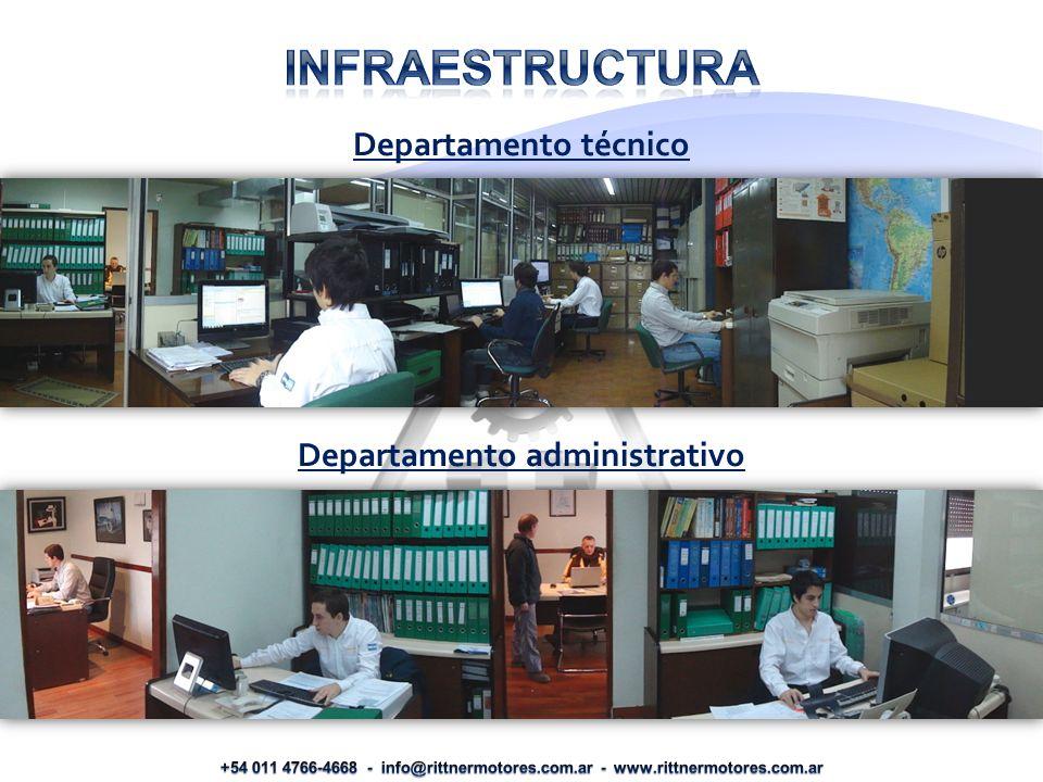 Departamento técnico Departamento administrativo