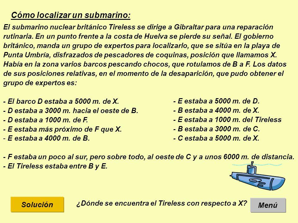 Cómo localizar un submarino: El submarino nuclear británico Tireless se dirige a Gibraltar para una reparación rutinaria.