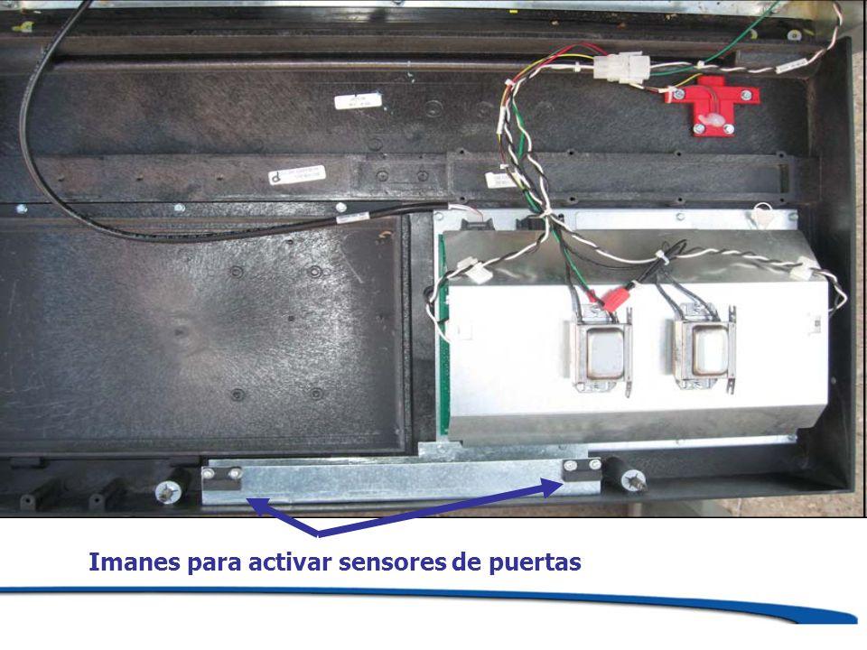 Imanes para activar sensores de puertas