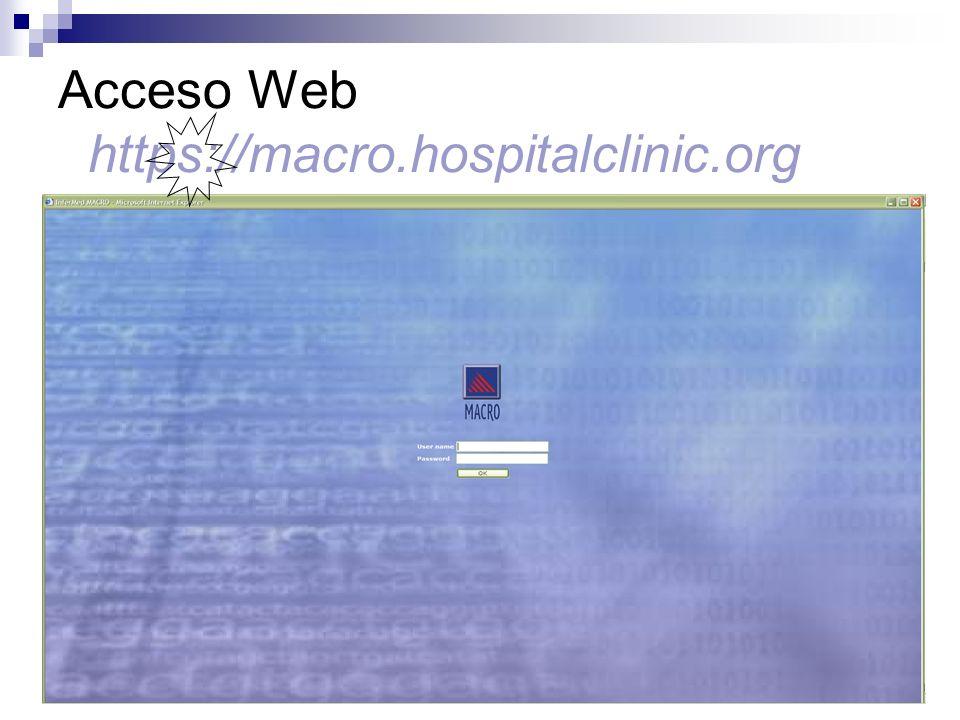 Seguridad/Trazabilidad Control de accesos por usuario y contraseña.