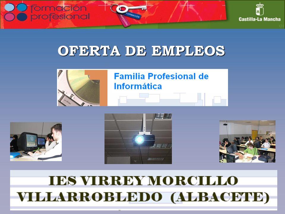 OFERTA DE EMPLEOS