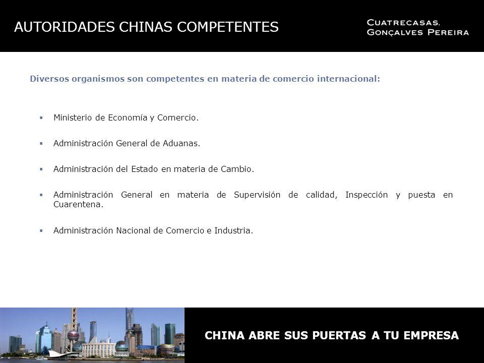 Diversos organismos son competentes en materia de comercio internacional: Ministerio de Economía y Comercio.