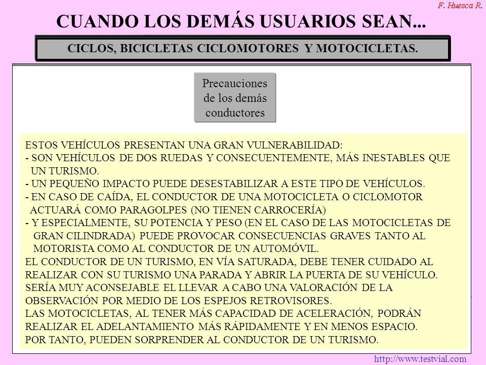 http://www.testvial.com VEHÍCULOS EN SERVICIOS DE URGENCIAS Y ESPECIALES.