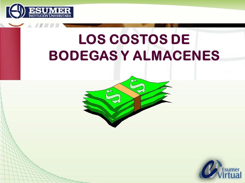 www.highlogistics.com logistics@une.net.co LOS COSTOS DE BODEGAS Y ALMACENES