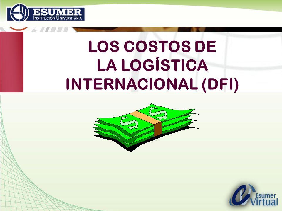 www.highlogistics.com logistics@une.net.co LOS COSTOS DE LA LOGÍSTICA INTERNACIONAL (DFI)
