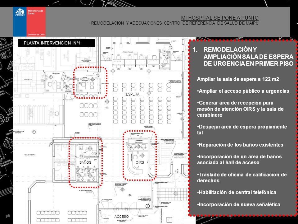5 MI HOSPITAL SE PONE A PUNTO REMODELACION Y ADECUACIONES CENTRO DE REFERENCIA DE SALUD DE MAIPU 2.