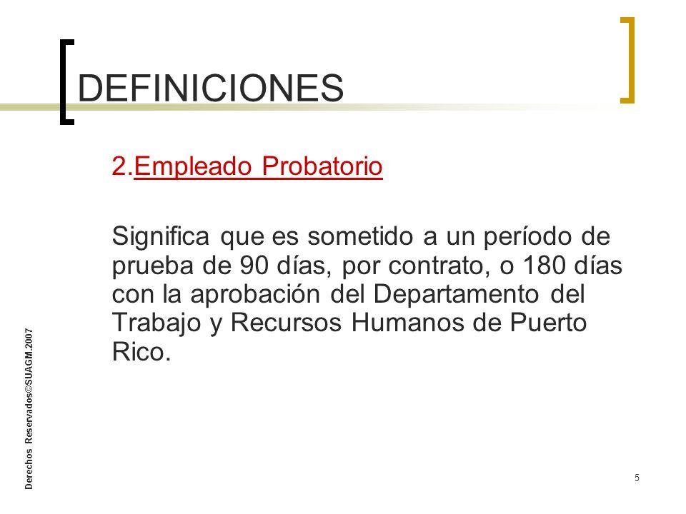 Derechos Reservados©SUAGM.2007 46 6.Asigne trabajo de manera imparcial.