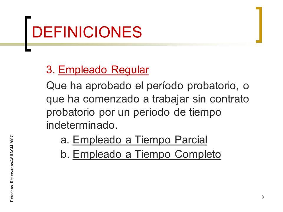 Derechos Reservados©SUAGM.2007 29 D.¿Qué debo hacer antes de aplicar acción disciplinaria.