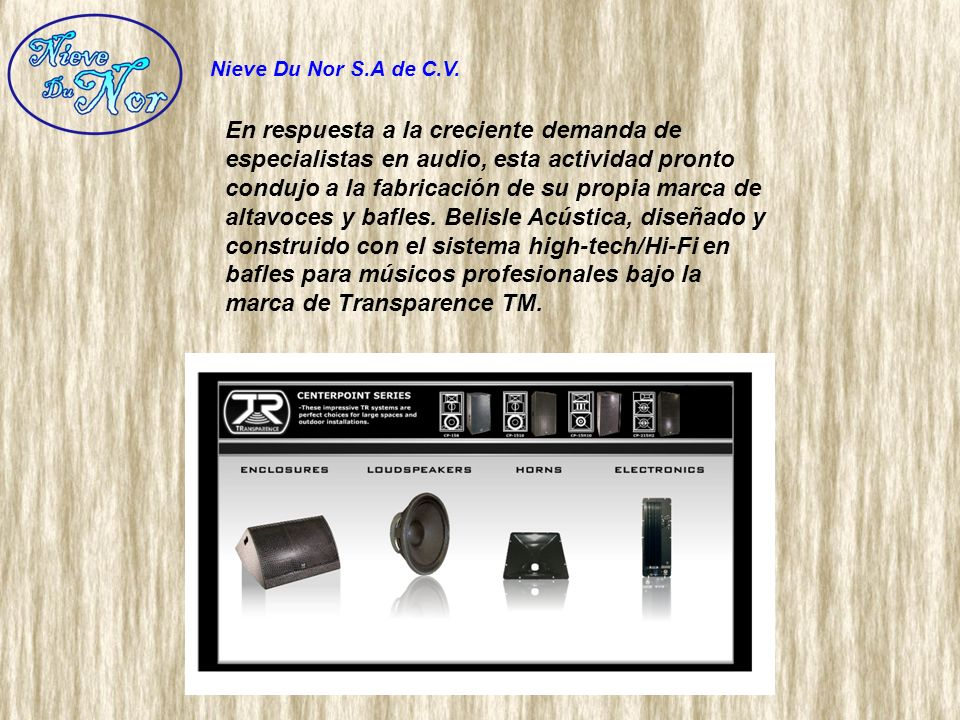 Sus productos se distribuyen en tiendas de música profesionales y centros de alquiler de todo el mundo.