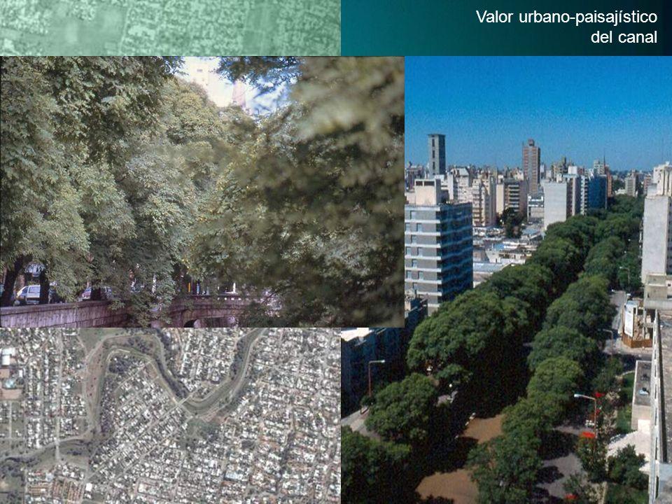 Valor urbano-paisajístico del canal