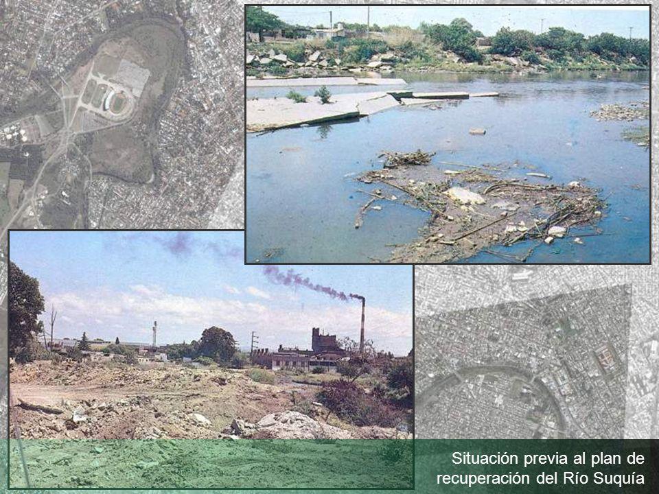 Situación previa al plan de recuperación del Río Suquía