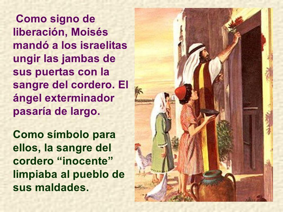 Para la religión judía el sacrificio del cordero tenía y tiene una impor- tancia especial en la Pascua.