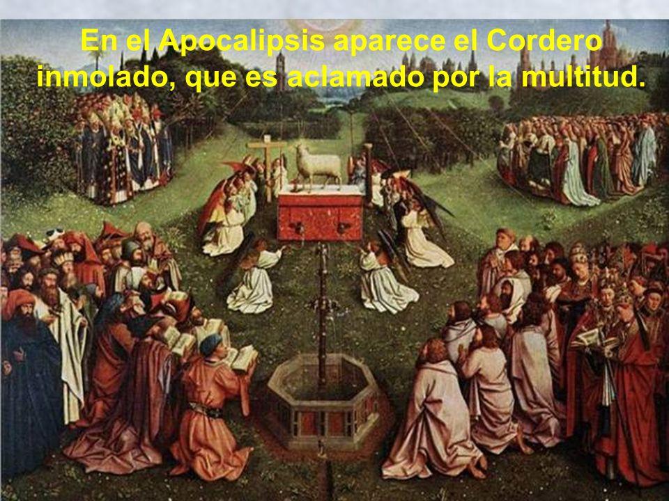San Pablo (I Cor 5, 6-7) dirá de Cristo que es nuestro Cordero Pascual inmolado.