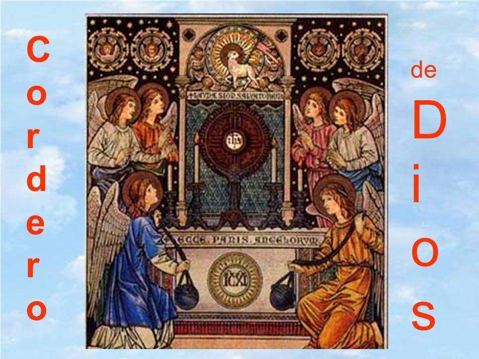 Que nosotros le invoquemos con fe a Él, que es Cordero de Dios y quita los pecados del mundo, para que tenga piedad de nosotros.