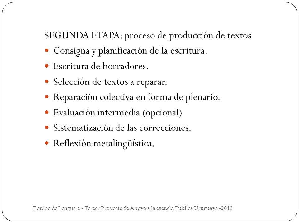 Implementación del proyecto PRIMERA ETAPA Evaluación diagnóstica. Trabajo con textos modélicos. Seleccionar textos reales de acuerdo a la secuencia se
