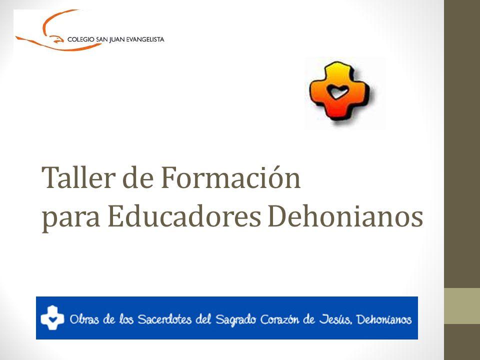 Taller de Formación para Educadores Dehonianos
