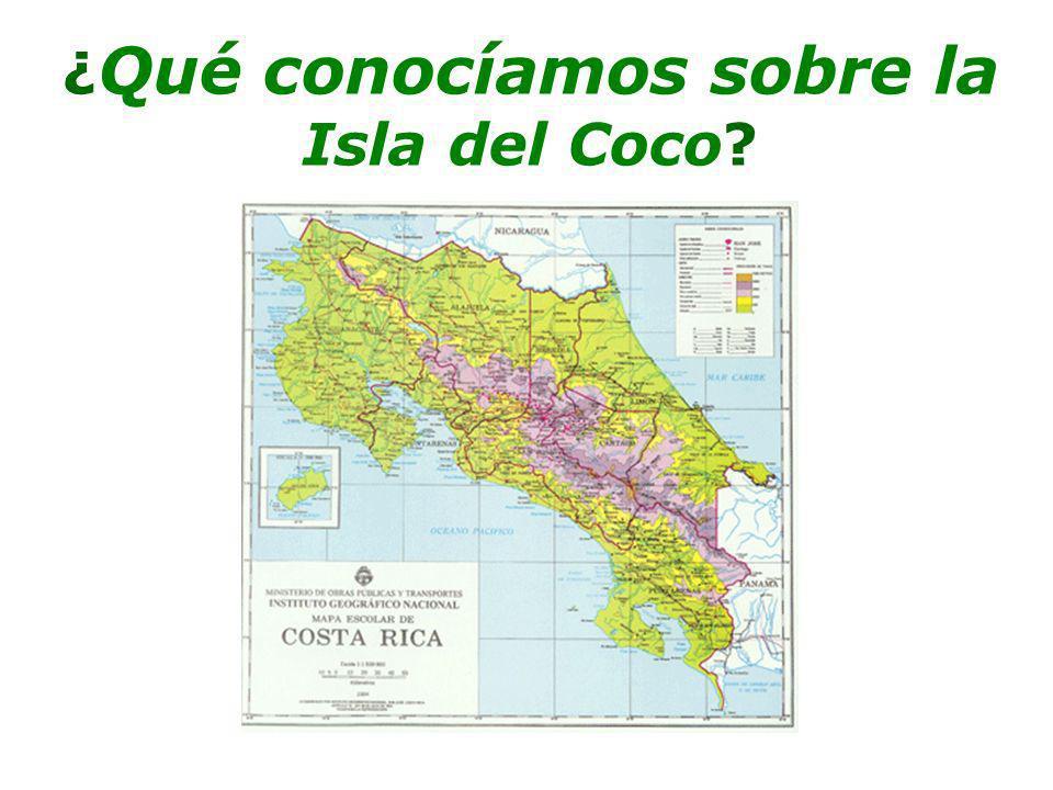 ¿ Qué conocíamos sobre la Isla del Coco?