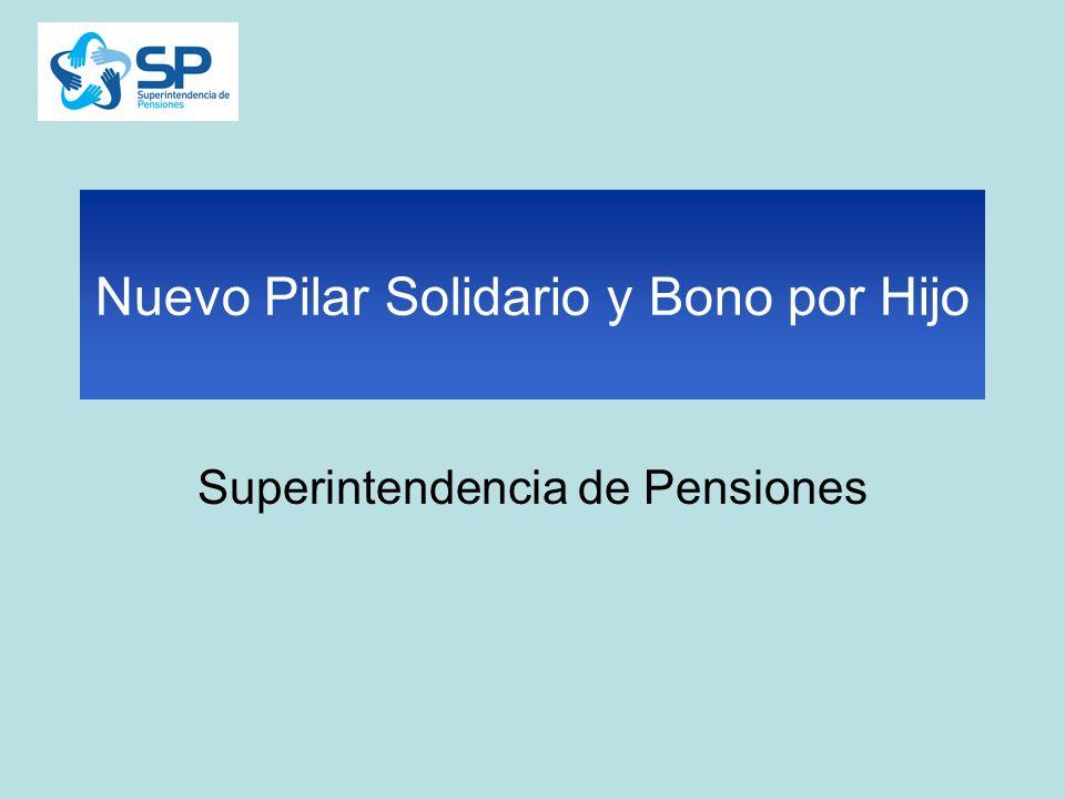 Nuevo Pilar Solidario y Bono por Hijo Superintendencia de Pensiones