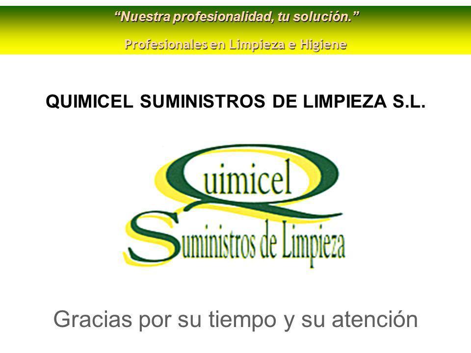 SUMINISTROS DE LIMPIEZA S.L.