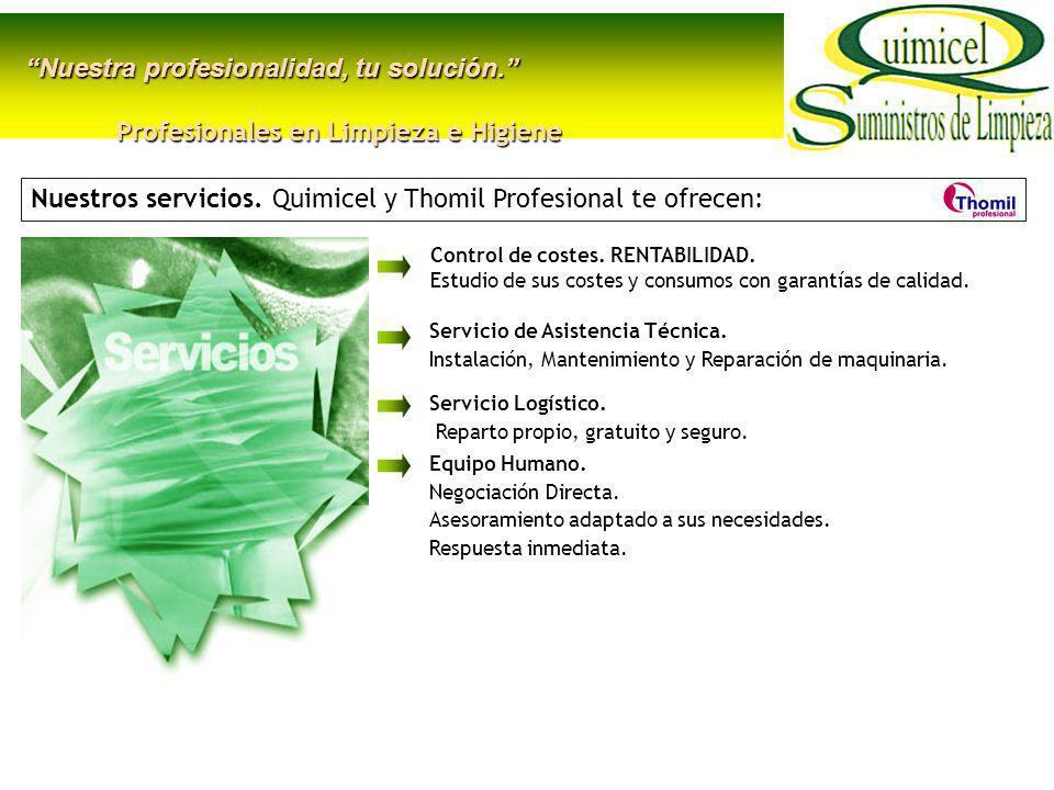 Protocolos de Limpieza e Higiene personalizados.