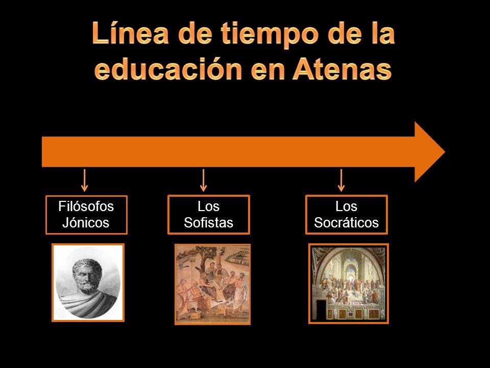 Filósofos Jónicos Los Sofistas Los Socráticos