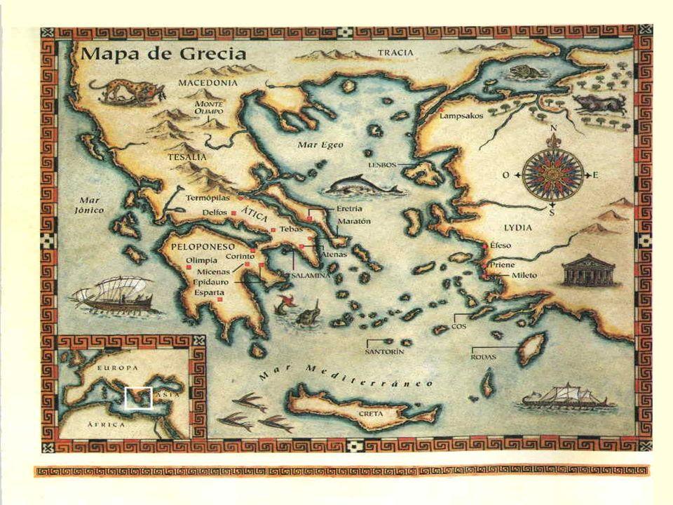 Periodo Micénico 1700 al 1100 A.C. Periodo Homérico 1100 al 776 A.