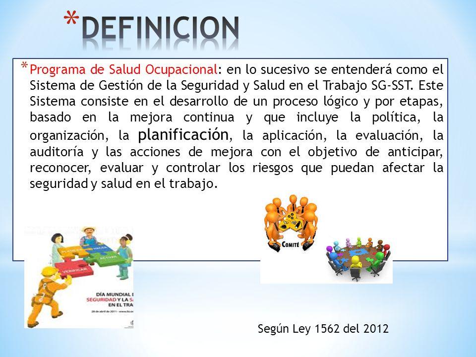 Artículo 23.Licencias en Salud Ocupacional.