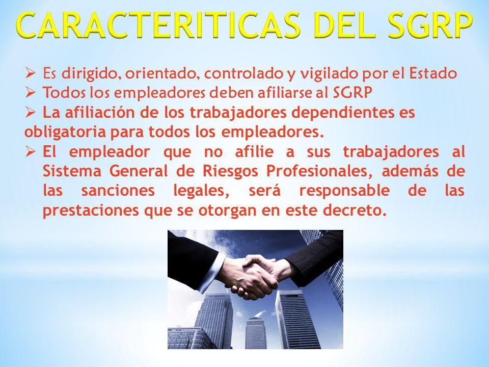 La selección de las entidades que administran el sistema es libre y voluntaria por parte del empleador.