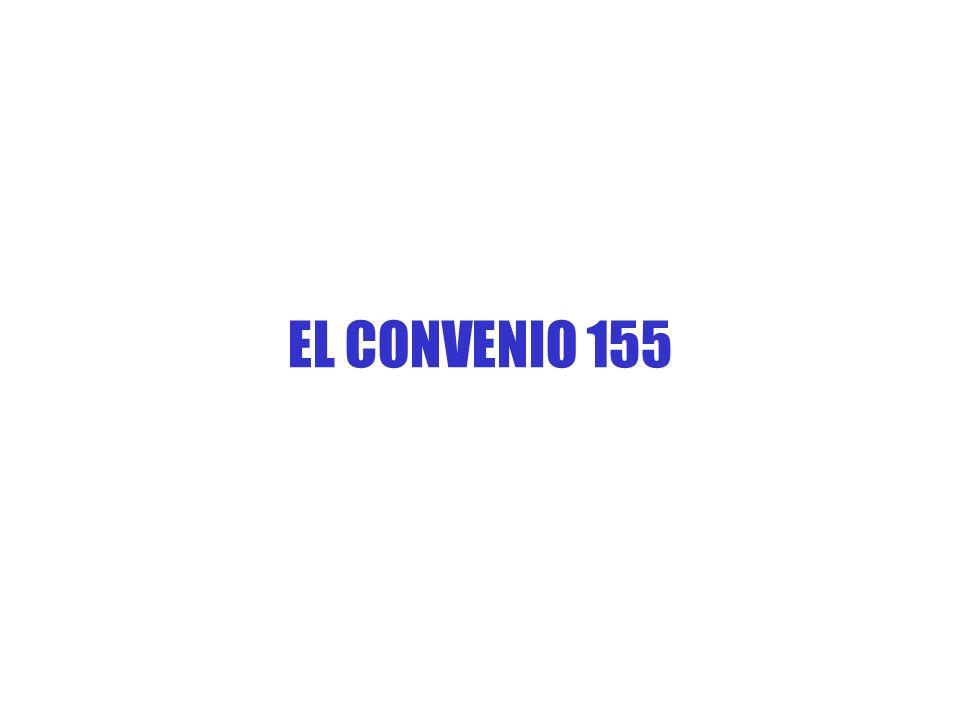 EL CONVENIO 155
