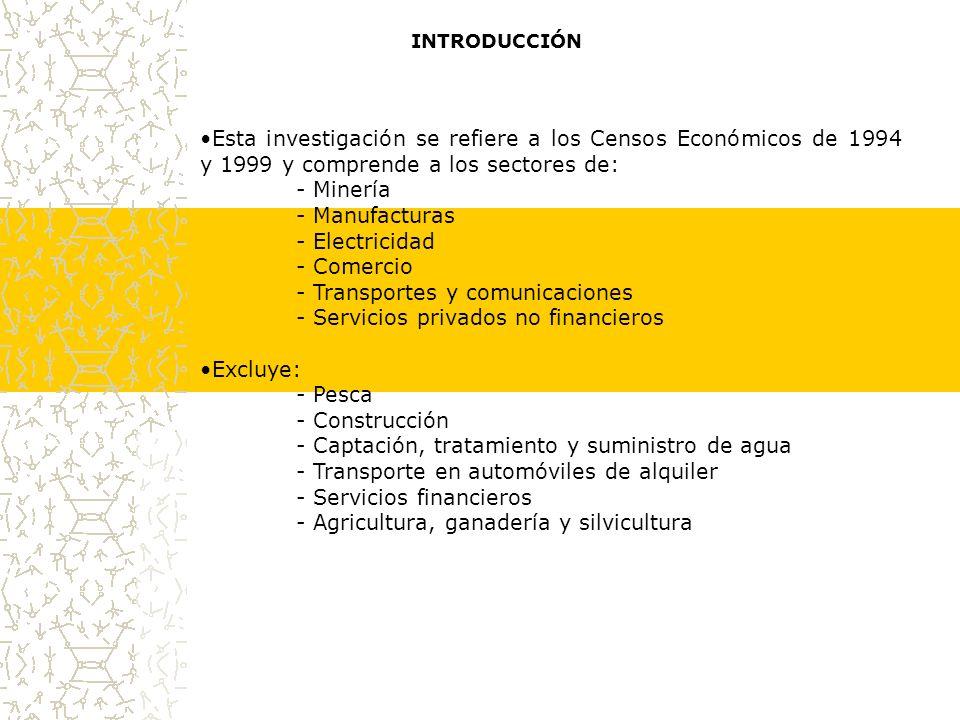 PERSONAL OCUPADO TOTAL Y SUBCONTRATADO, SEGÚN GÉNERO, 1998 En el sector comercio, las mujeres constituyen la mayor parte del personal ocupado no remunerado, al tiempo que son minoría en el personal ocupado remunerado.