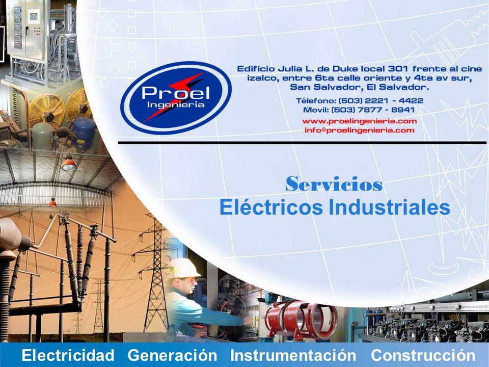 Servicios Eléctricos Industriales Electricidad Generación Instrumentación Construcción Servicios Eléctricos Industriales