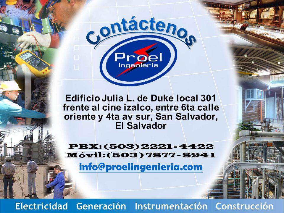 Servicios Eléctricos Industriales Edificio Julia L.