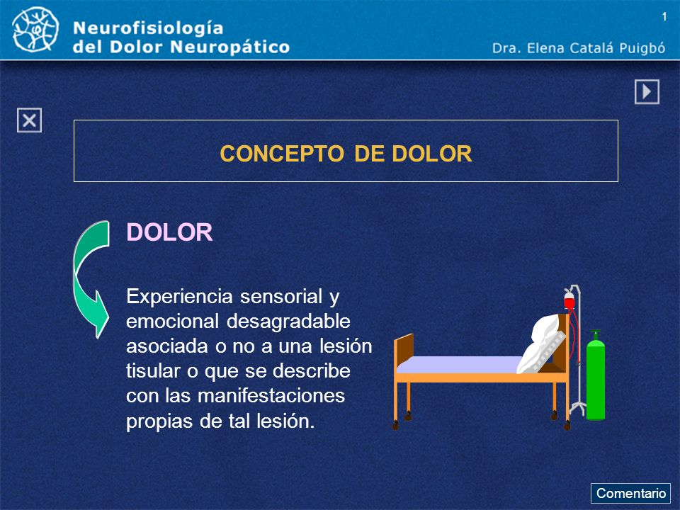 Comentario a diapo26 Estas son las causas que con mayor frecuencia producen dolor neuropático.