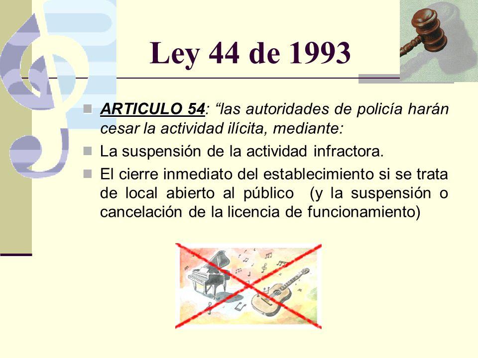 Ley 232 de 1995 Artículo 2.
