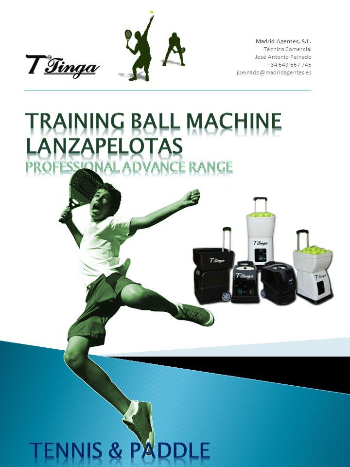 Técnicas Modelos T2 & T3 BALL MACHINE Begginer Ranger Los modelos T2 y T3, están dirigidas básicamente para entrenamiento y perfeccionamiento nivel BASICO.