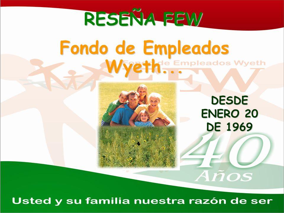 RESEÑA FEW Fondo de Empleados Wyeth... DESDE ENERO 20 DE 1969