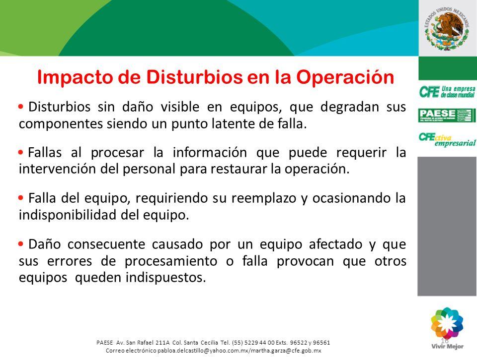 16 PAESE Av. San Rafael 211A Col. Santa Cecilia Tel. (55) 5229 44 00 Exts. 96522 y 96561 Correo electrónico pabloa.delcastillo@yahoo.com.mx/martha.gar