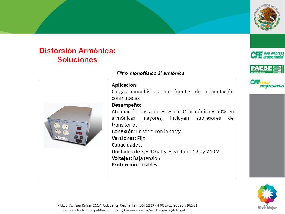 53 PAESE Av. San Rafael 211A Col. Santa Cecilia Tel. (55) 5229 44 00 Exts. 96522 y 96561 Correo electrónico pabloa.delcastillo@yahoo.com.mx/martha.gar