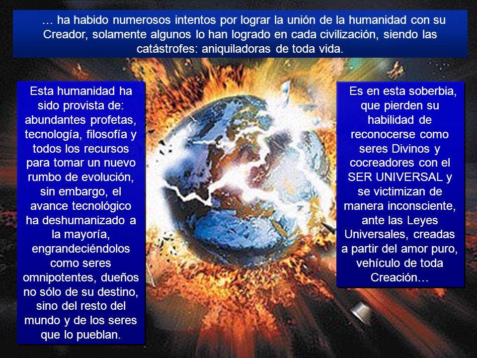 ¿Cuál es el destino de nuestro Planeta? La Tierra como tal, únicamente como Planeta sin humanos, ni ninguna otra especie viviente, volverá a sanar y a