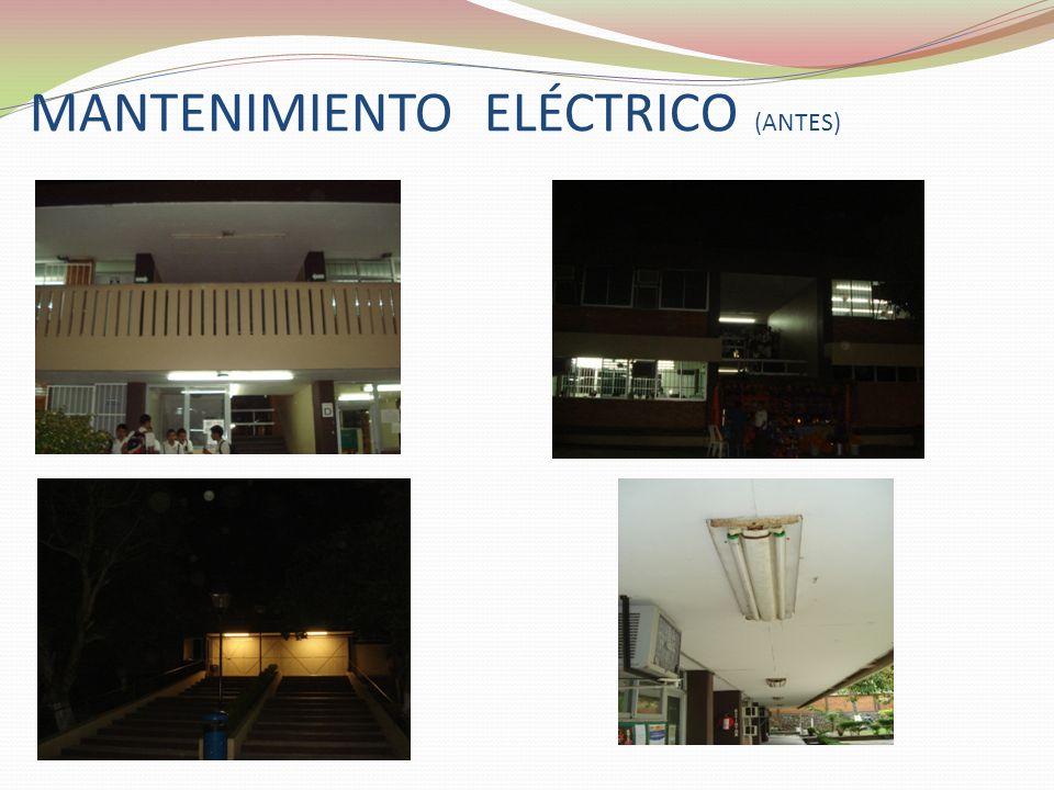 MANTENIMIENTO ELÉCTRICO (ANTES)