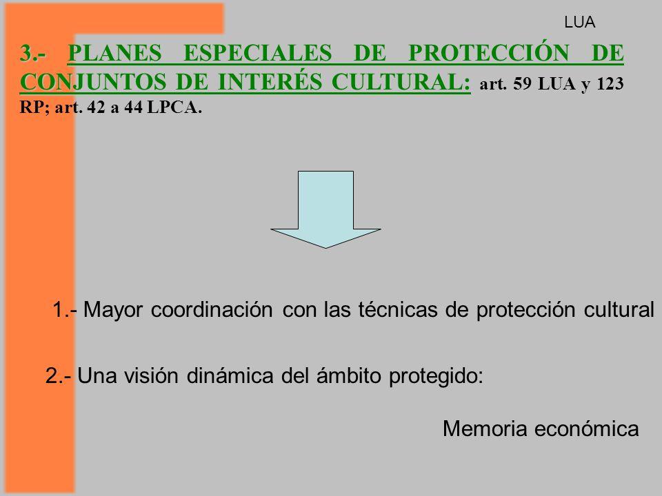 3.- PLANES ESPECIALES DE PROTECCIÓN DE CONJUNTOS DE INTERÉS CULTURAL: 3.- PLANES ESPECIALES DE PROTECCIÓN DE CONJUNTOS DE INTERÉS CULTURAL: art.