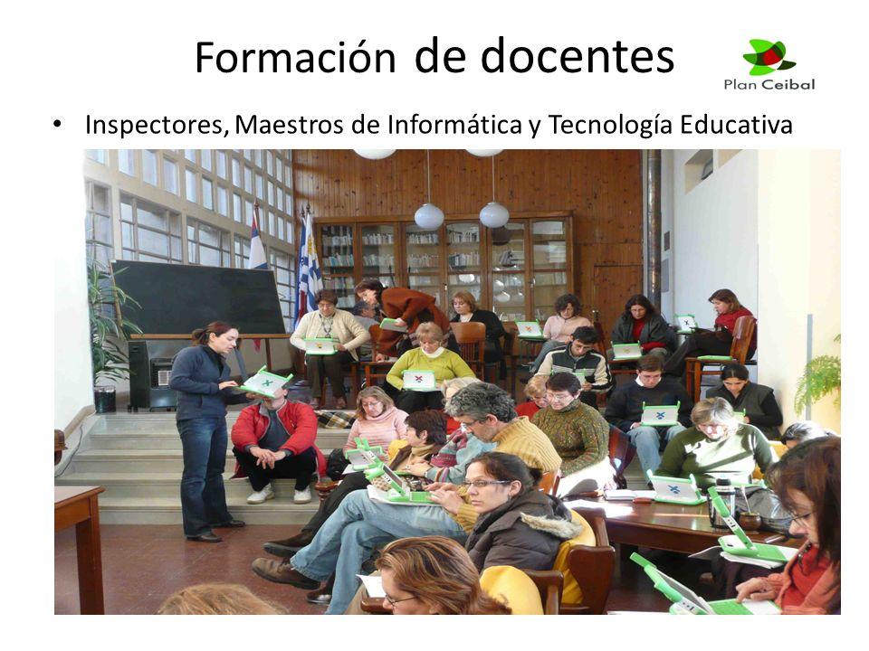 Formación de docentes Inspectores, Maestros de Informática y Tecnología Educativa