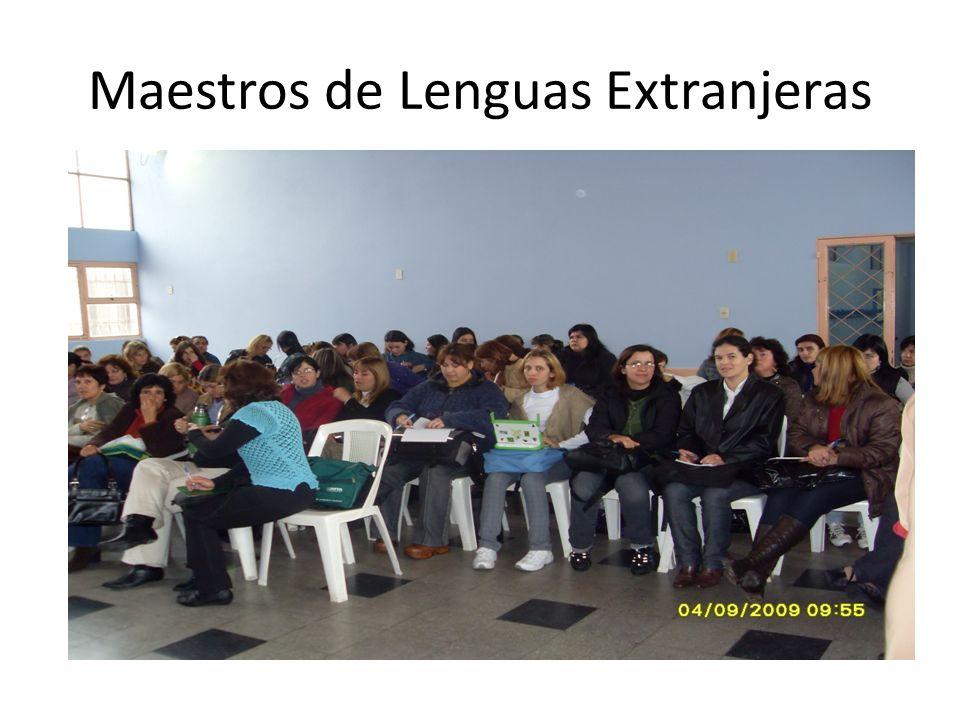 Maestros de Lenguas Extranjeras