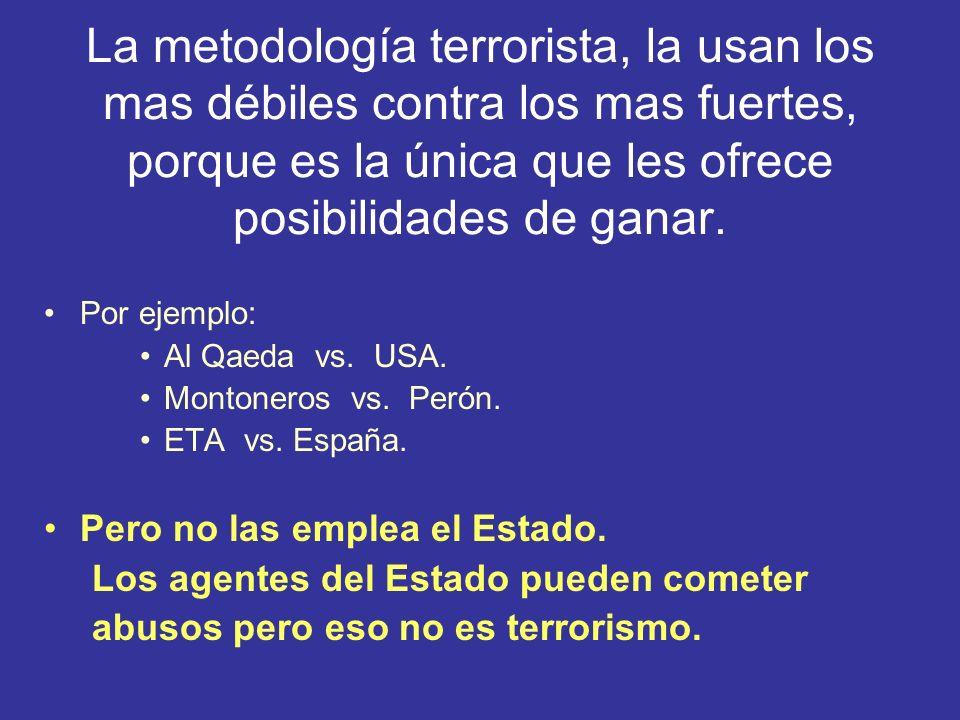 Terrorismo de Estado, no sabemos que quiere decir, pero suena mal e impresiona.