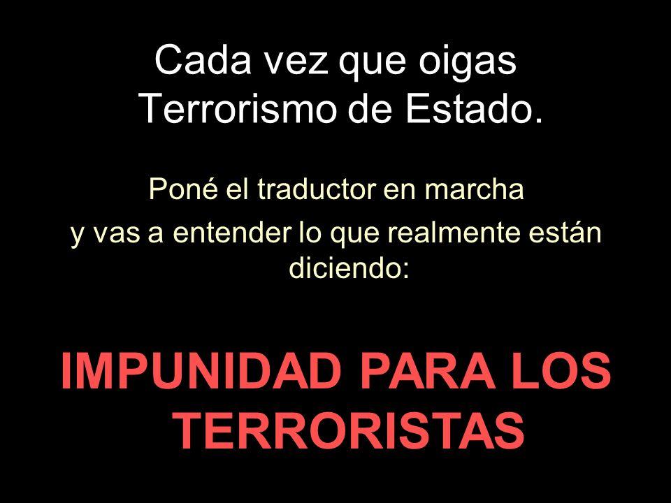 PARA IMPONER LA DOCTRINA DEL TERRORISMO DE ESTADO EL GOBIERNO… Modificó la introducción del Nunca Mas, cambiando la historia a voluntad.