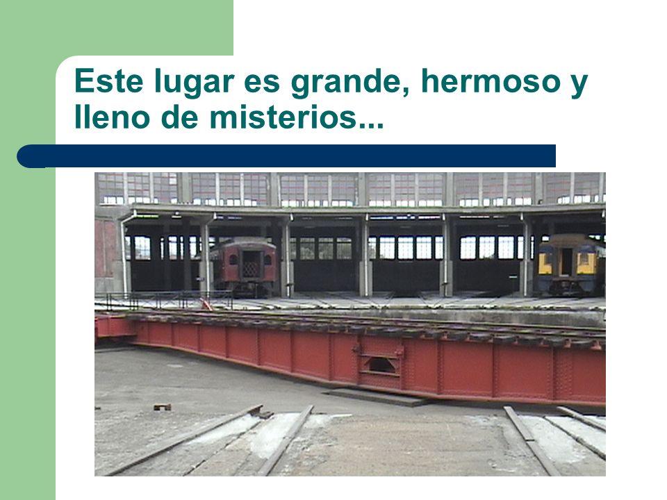 El museo lleva este nombre ya que el padre de Pablo Neruda era conductor de maquinas y parte de su infancia lo vivió en los trenes...