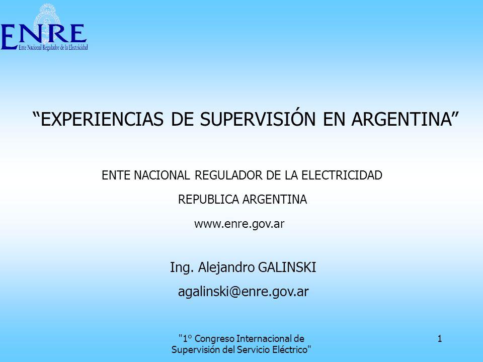 1° Congreso Internacional de Supervisión del Servicio Eléctrico 22 Indicador ICT 1 La determinación del Índice de Calidad (IC) se basa en calcular la cantidad de registros equivalentes (Reg Eq).